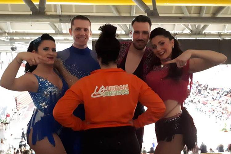 Domenicha piena di gara, Winther Match e AICS Danze Daraibiche