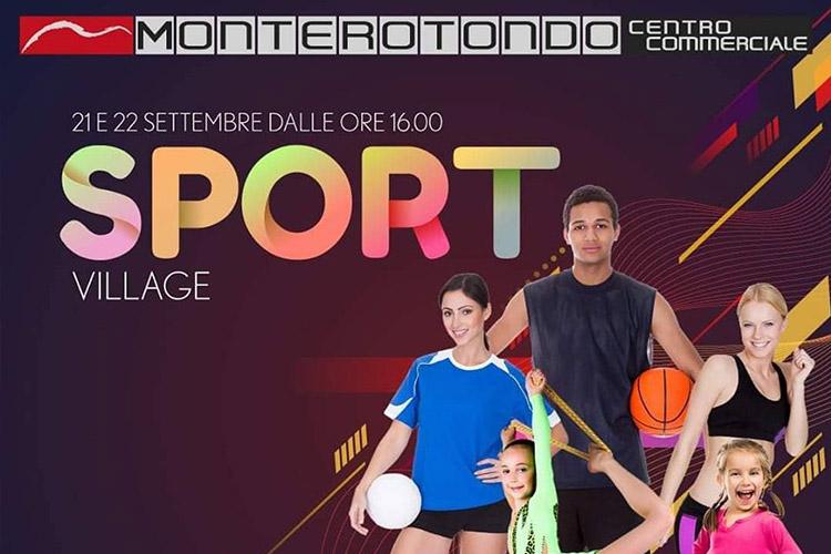 Sport Village di Monterotondo, facciamo conoscere lo sport!