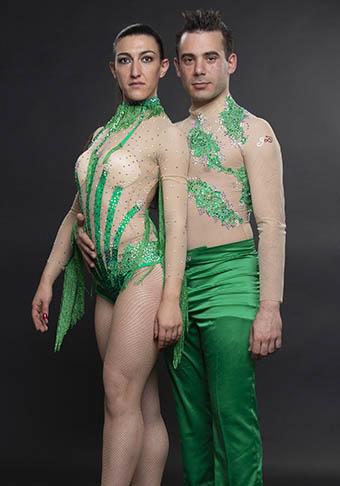 Alessio Scaramella e Jennifer Bellassai