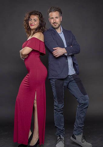 Giorgia Cirulli e Valerio Salvatori