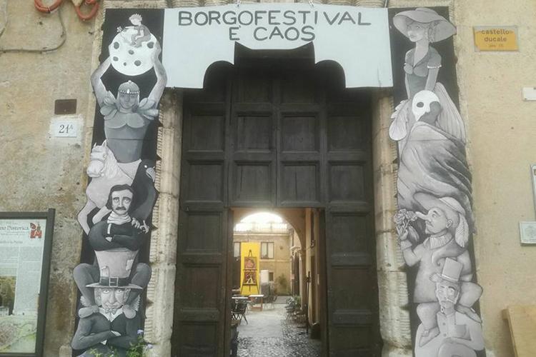 """Borgofestival di Fiano Romano """"Caos"""""""